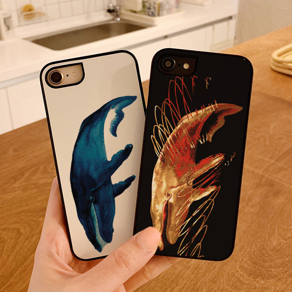 흰달 고래 스타일케이스