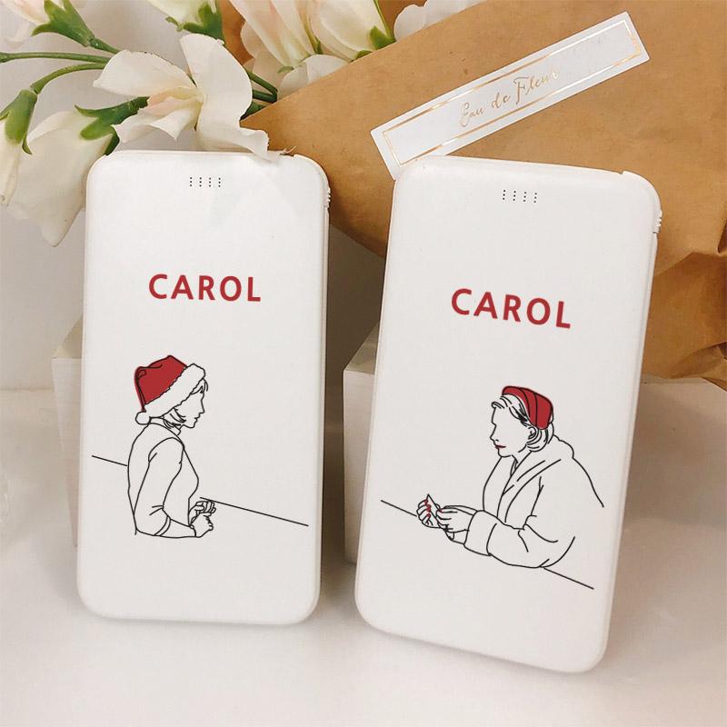 CAROL 슬림핏 보조배터리