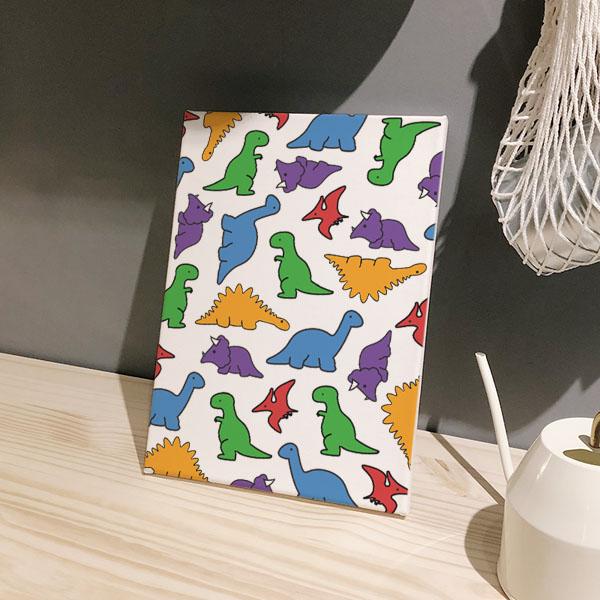Dinosaur 패턴 아트캔버스