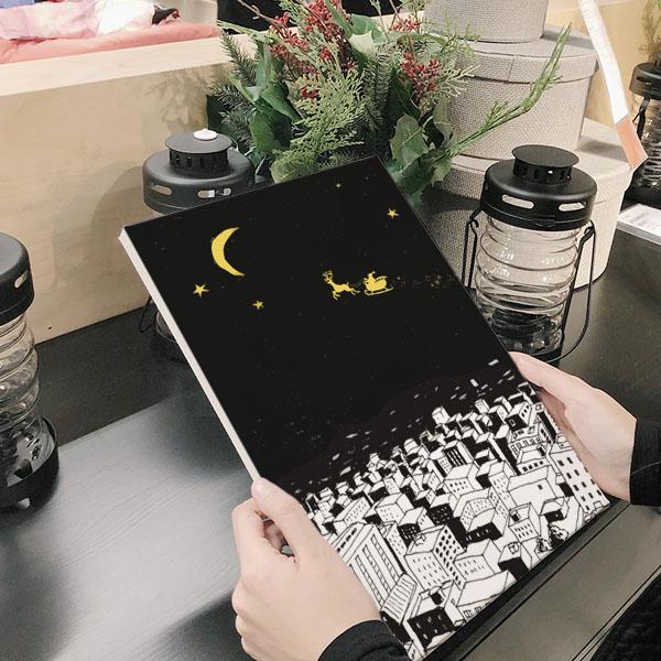 실버해리 도시의달밤 밤풍경 아트캔버스