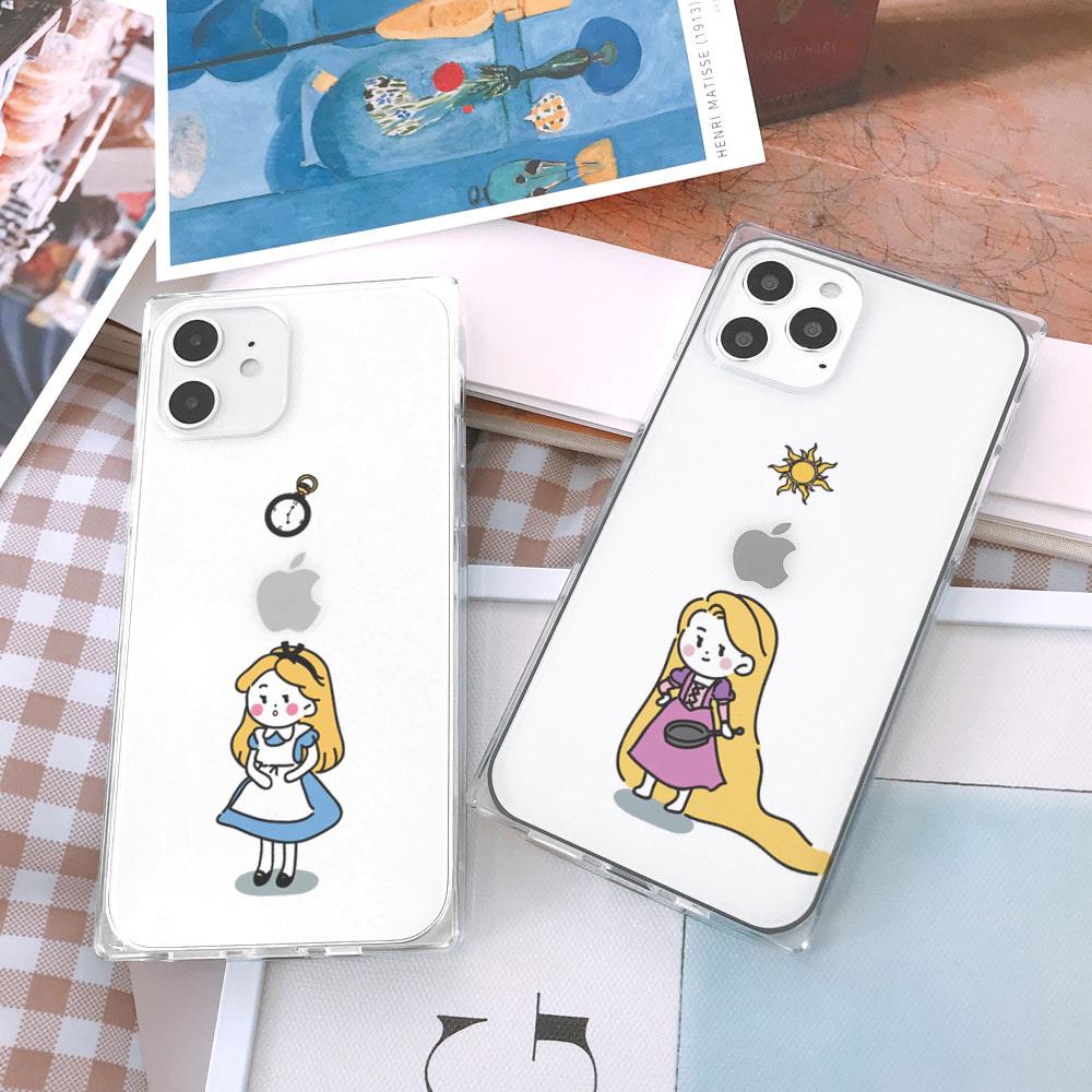 Princess03 아이폰큐브케이스