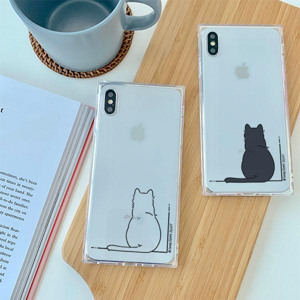 종종 고양이의하루 아이폰큐브케이스