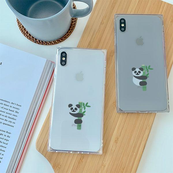 티티 Panda 아이폰큐브케이스