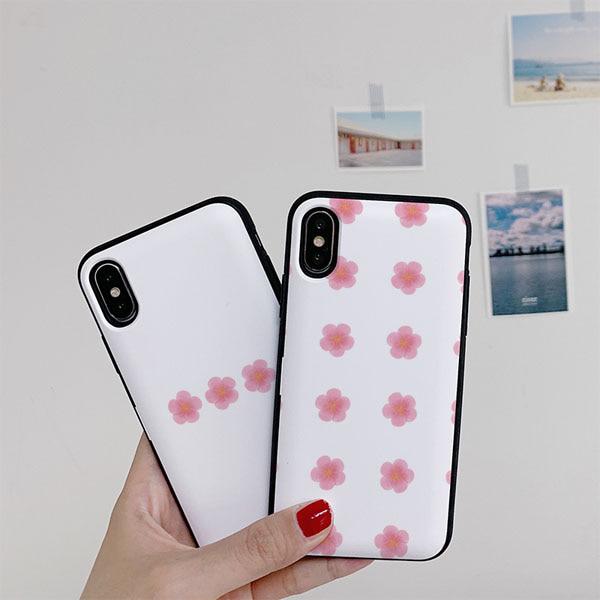 BINA 벚꽃 카드케이스