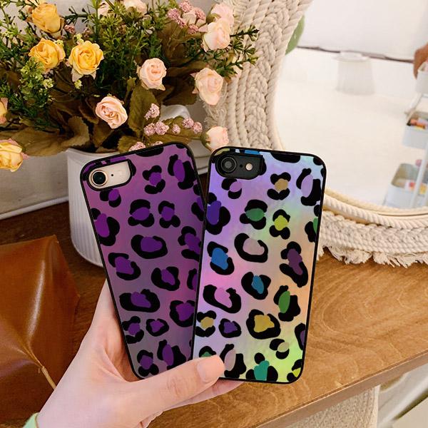leopard printed 샤이닝케이스